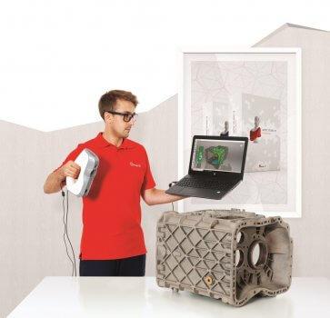 Artec Studio 13 mit Artec 3D-Scanner EVA