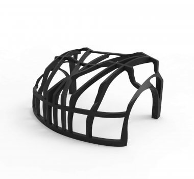 Fahrzeugteil aus dem 3D-Drucker
