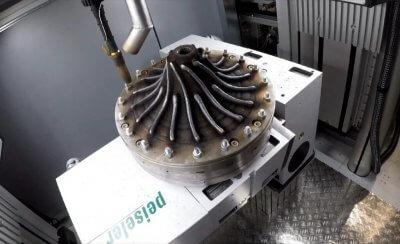 GEFERTEC 3DMP 3D-Druck mit Metall