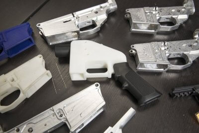 Waffenteile von Defense Distributed entworfen