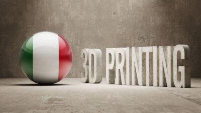 Italien und 3D-Druck