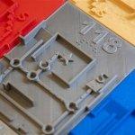 3D-gedruckte Blindenkarte der USF