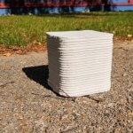 3D-gedruckte Pflastersteine