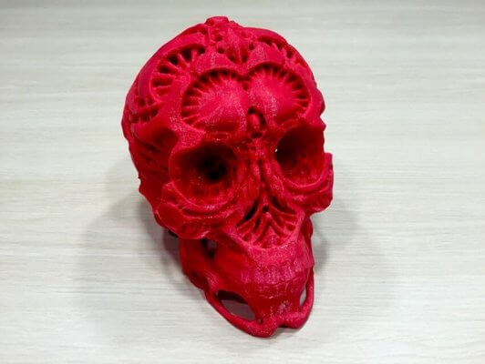 Hunters Skull aus 3D-Drucker