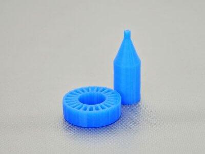 Silikon-Objekte aus dem 3D-Drucker