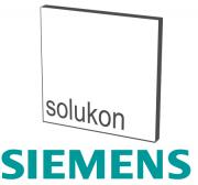 Logos von Solukon und Siemens