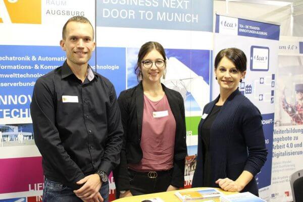 Teilnehmer der EAM in Augsburg