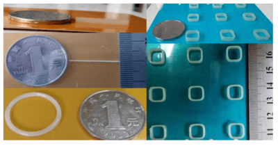Einfache 3D-gedruckte Objekte