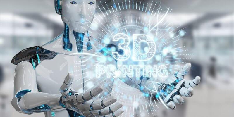 3D-Druck-Roboter