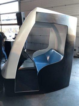 3D-gedruckte Kabine