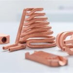 3D-gedruckte Objekte aus Kupfer