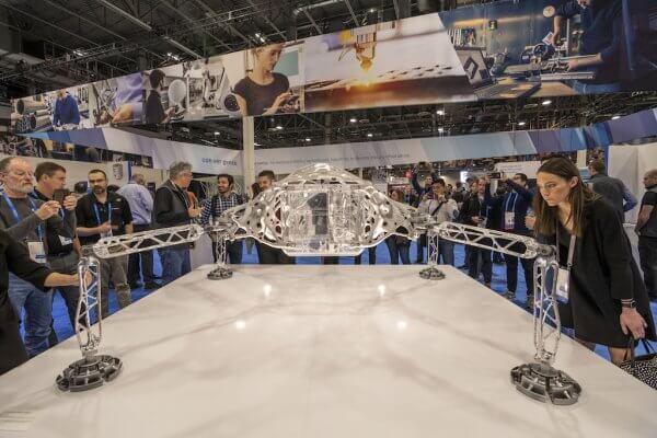 Der 3D-gedruckte Lander