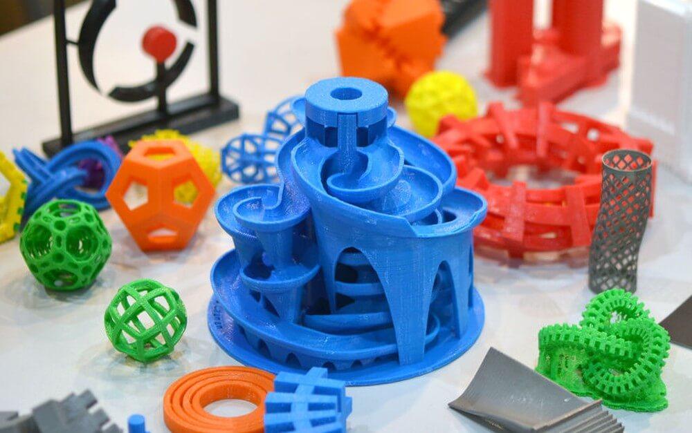 3D-Objekte aus 3D-Drucker