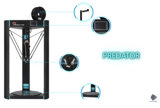 Bild des Anycubic Predator