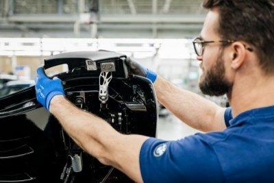 BMW 3D-gedruckte Komponenten beim Roadster i8