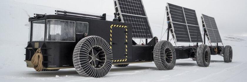 Solarmobil von clean2antarctica