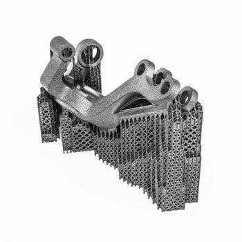 3D-Druckobjekt Metall