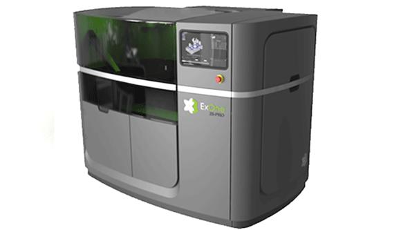 Bild des neuen 3D-Druckers von ExOne