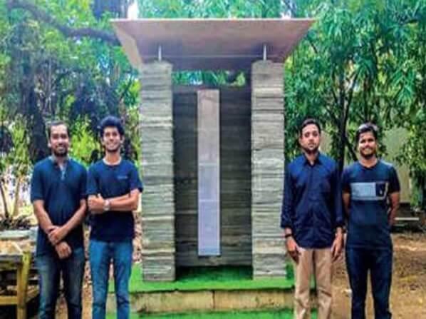 indische forscher fertigen haus mit 3d drucker in nur 3 tagen. Black Bedroom Furniture Sets. Home Design Ideas