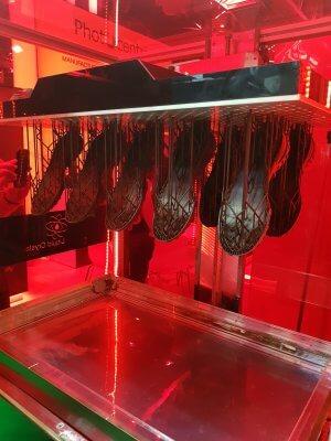 LC Maximus 3D-Drucker mit Druckobjekt