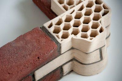 Mauerziegel aus dem 3D-Drucker