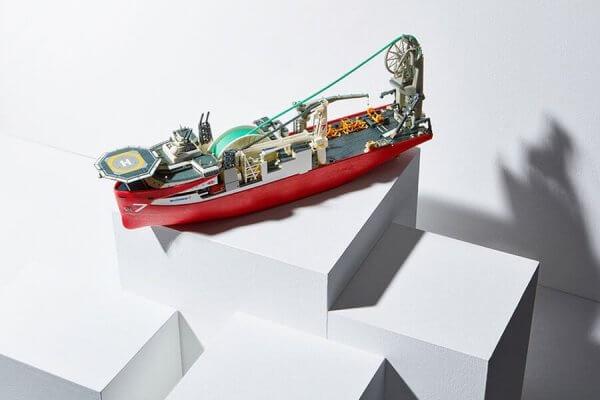 Multi-Color-3D-Druck-Objekt