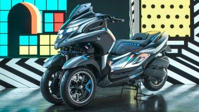 Yamaha 3CT Roller-Dreirad
