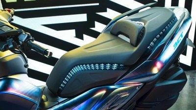 Sitzbank des Yamaha 3CT