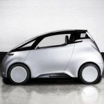 Uniti One - 3D-gedrucktes Auto Seitenansicht