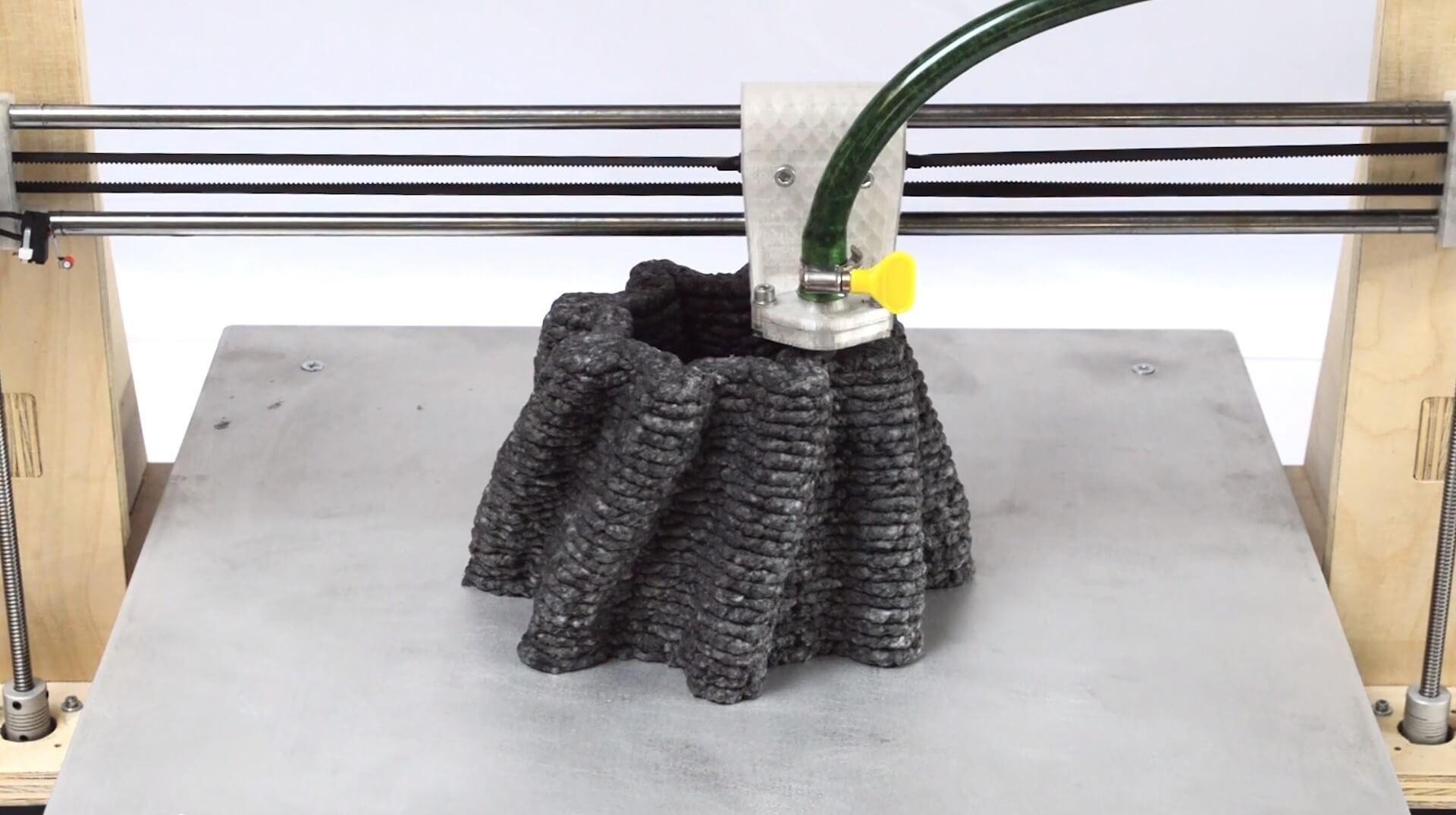 Zellstoff-3D-Drucker