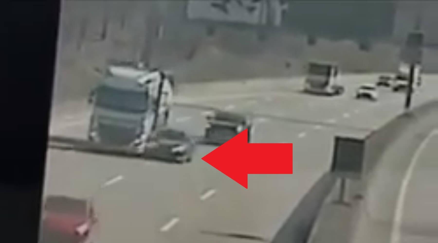 Schwerer LKW-Unfall