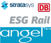 Angel Trains - ESG Rail - Stratasys Logo
