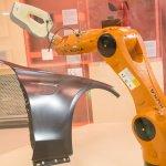 Artec Eva auf Roboterarm KUKA