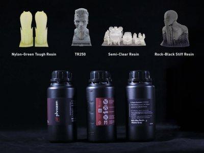 3D-Druckobjekte hergestellt mit Transform von Phrozen