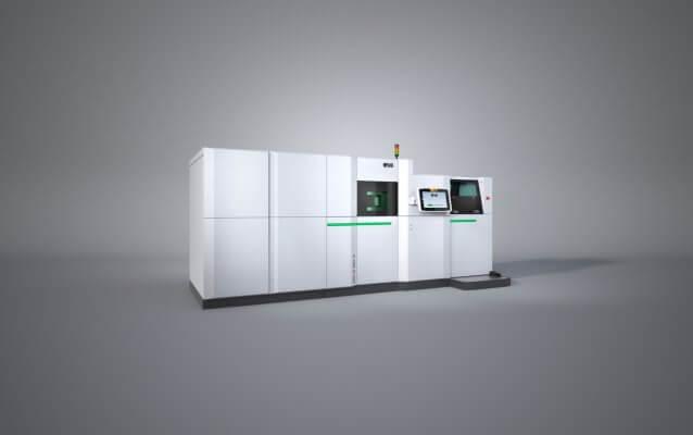 Das EOS M 300-4 3D-Drucksystem