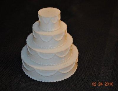 Hochzeitstorte aus dem 3D-Drucker