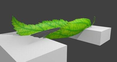 3D-gedruckte Brücke - der Entwurf