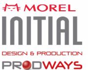 Logo MOREL und INITIAL