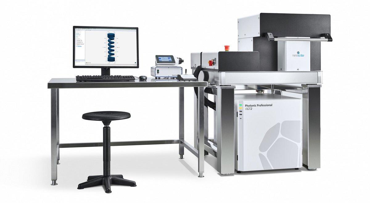 Nanoscribe stellt seinen Photonic Professional GT2 3D-Drucker für Objekte mit Submikrometerdetails vor