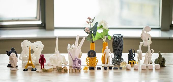 Druckobjekte erstellt mit dem Panda 3D Paladin