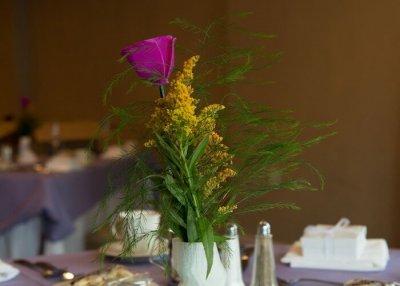 Vase aus 3D-Drucker für Hochzeit