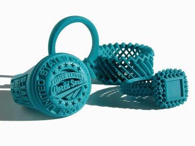 3D-gedruckte Schmuckmodelle von Solidscape