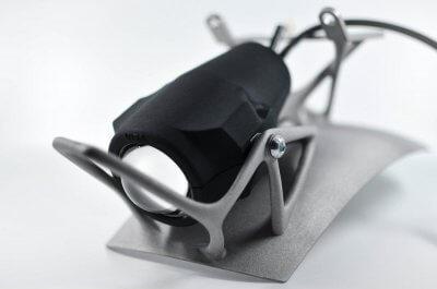 3D-gedruckter Schutzblech- und Scheinwerfersupport