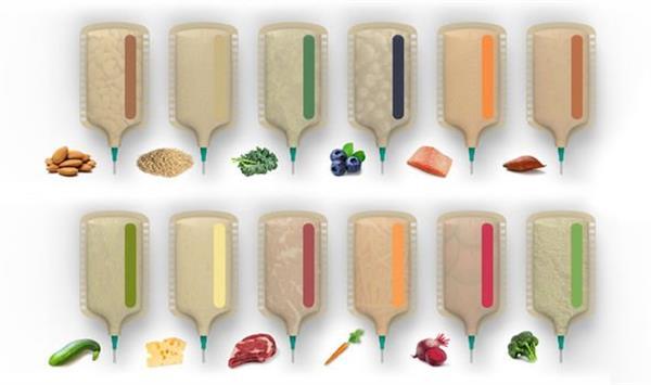 3D-Lebensmitteldrucker Materialien
