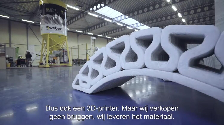 Beton-3D-Druck-Fabrik in Eindhoven
