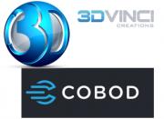 COBOD und 3D Vinci Logo