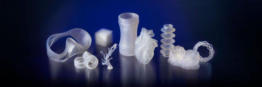 3D-gedruckte Formen Elastic Resin