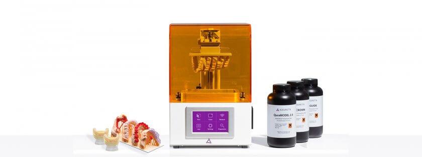 Freeshape 120 3D-Drucker, Materialien und Druckobjekt
