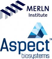 MERLN und Aspect Biosystems Logos