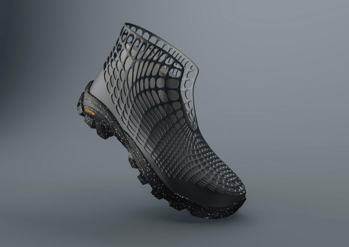 Sympatex stellt auf ISPO wasserdichten Schuh 4.0 aus dem 3D-Drucker vor
